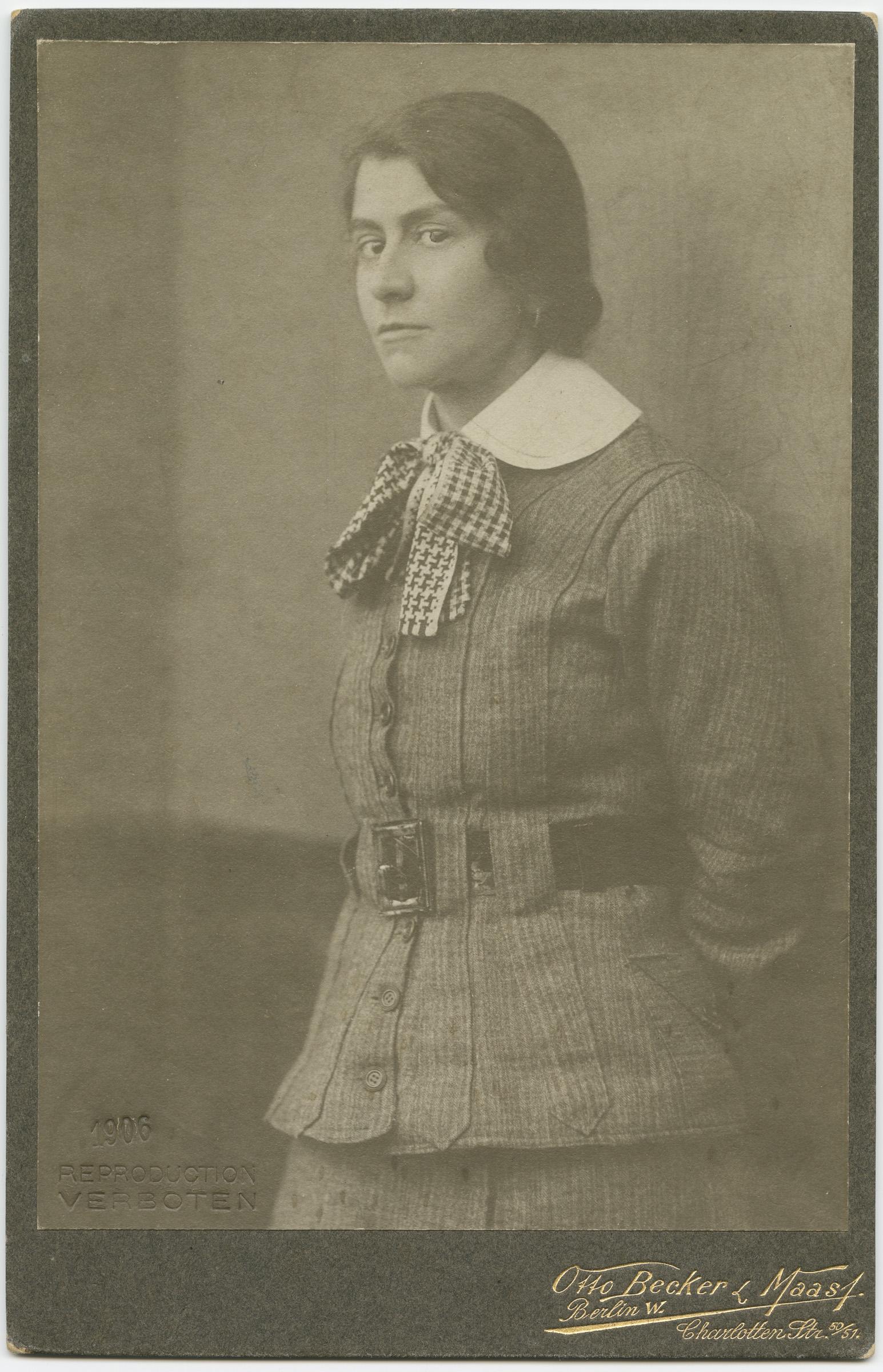 Portrait Photograph of Else Lasker-Schüler